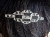 Edwardian to 1920s  Hair Ornament - Diamante Diadem or Sew-on trim (SOLD)